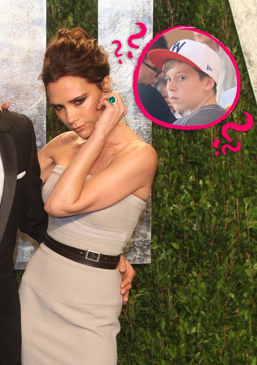Victoria Beckham - Victoria Beckham zdażyło się zapomnieć o jej synu Brooklynie.